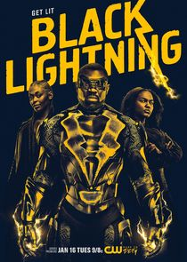 Black Lightning small logo