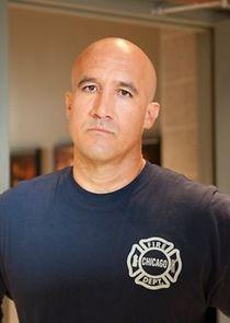 Firefighter Jose Vargas
