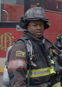Firefighter Rick Newhouse