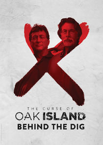 The Curse of Oak Island: Behind the Dig small logo