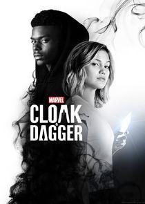 Marvel's Cloak & Dagger small logo