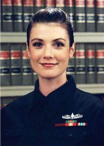 "Legalman First Class (LN1) Jennifer ""Jen"" Coates, USN"