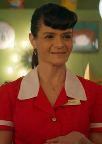 Waitress Maria