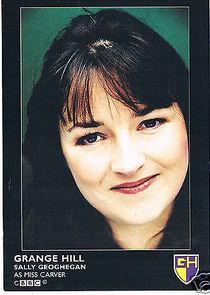 Sally Geoghegan Miss Carver