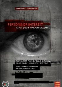 Persons of Interest - The ASIO Files