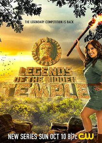 Legends of the Hidden Temple cover