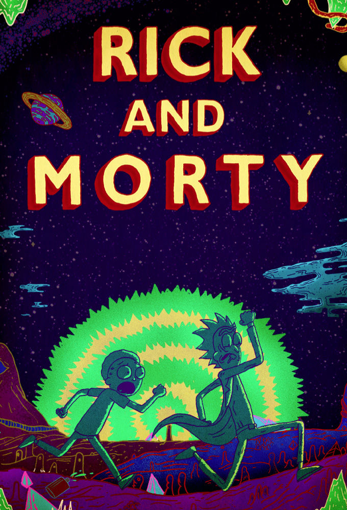 Poster of TV show Rick and Morty