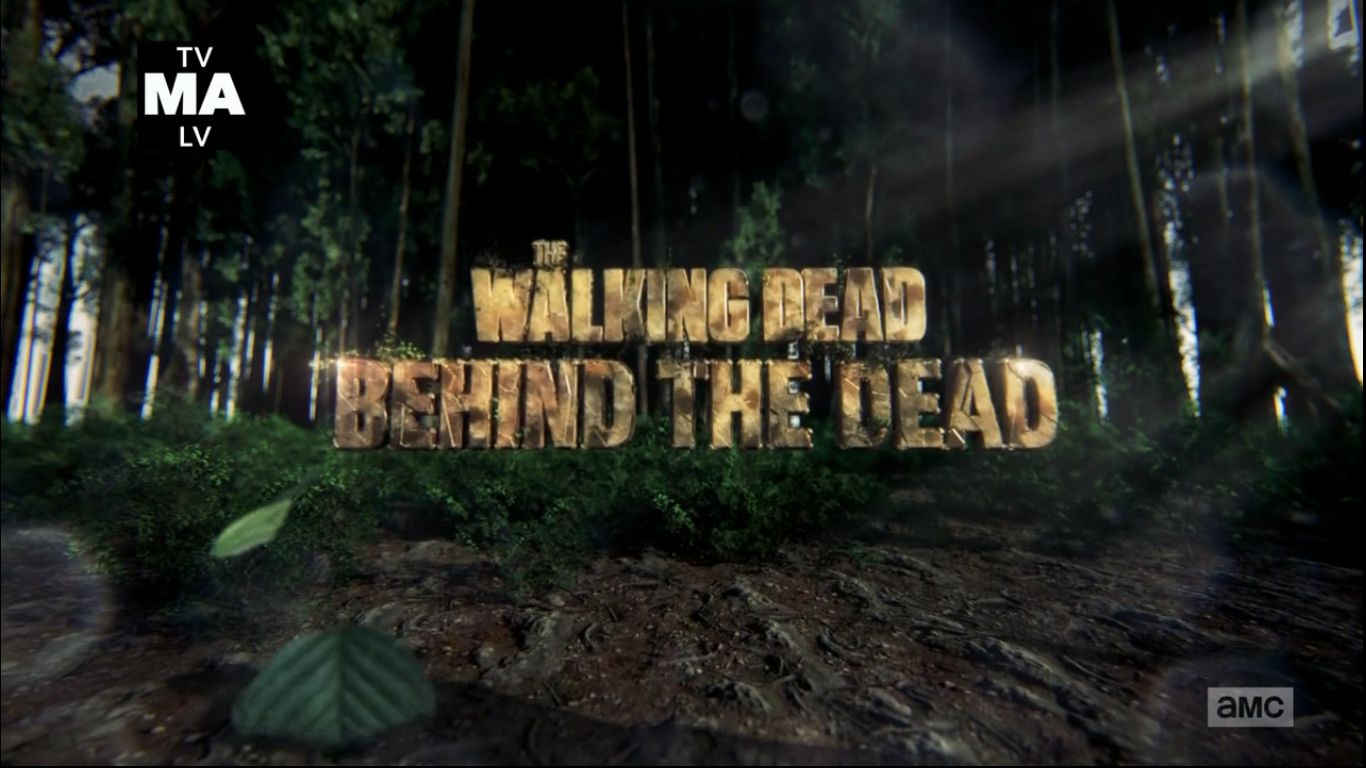 The Walking Dead - Behind the Dead extra