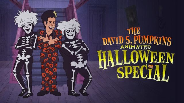 Saturday Night Live - The David S. Pumpkins Animated Halloween Special extra