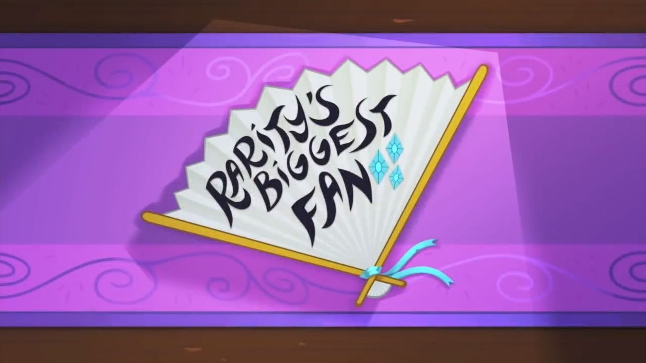 My Little Pony: Friendship is Magic - Rarity's Biggest Fan extra
