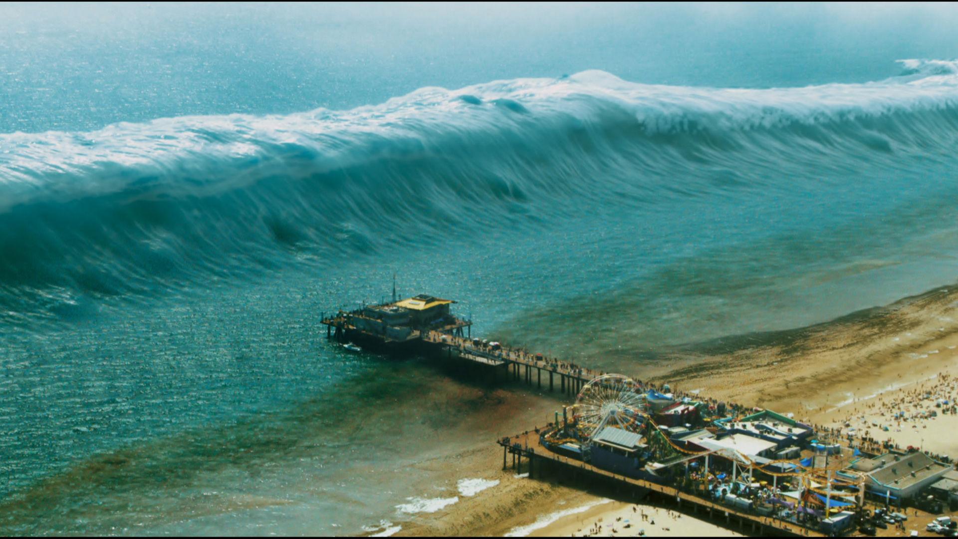 германии фото отлива воды в океане перед цунами рыбу