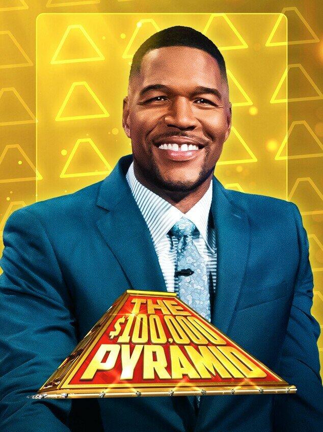 The $100,000 Pyramid Logo