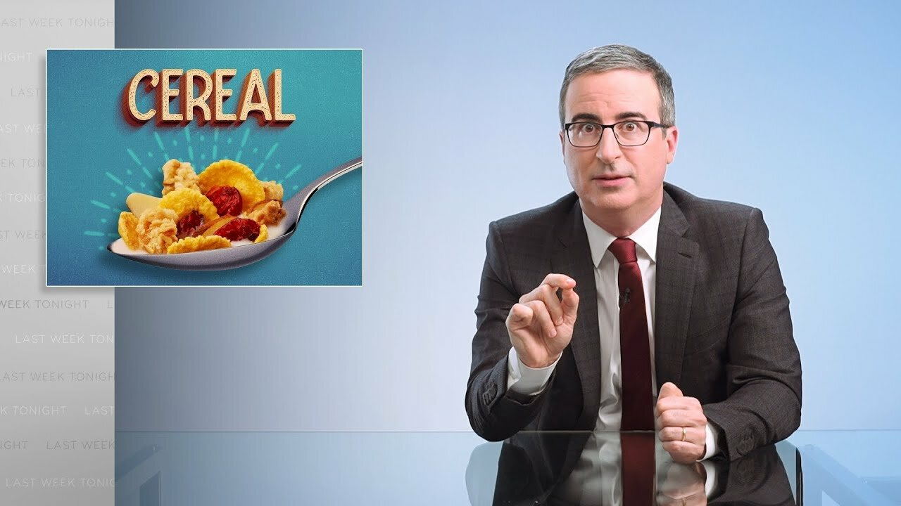 Last Week Tonight with John Oliver - Cereal (Web Exclusive) extra