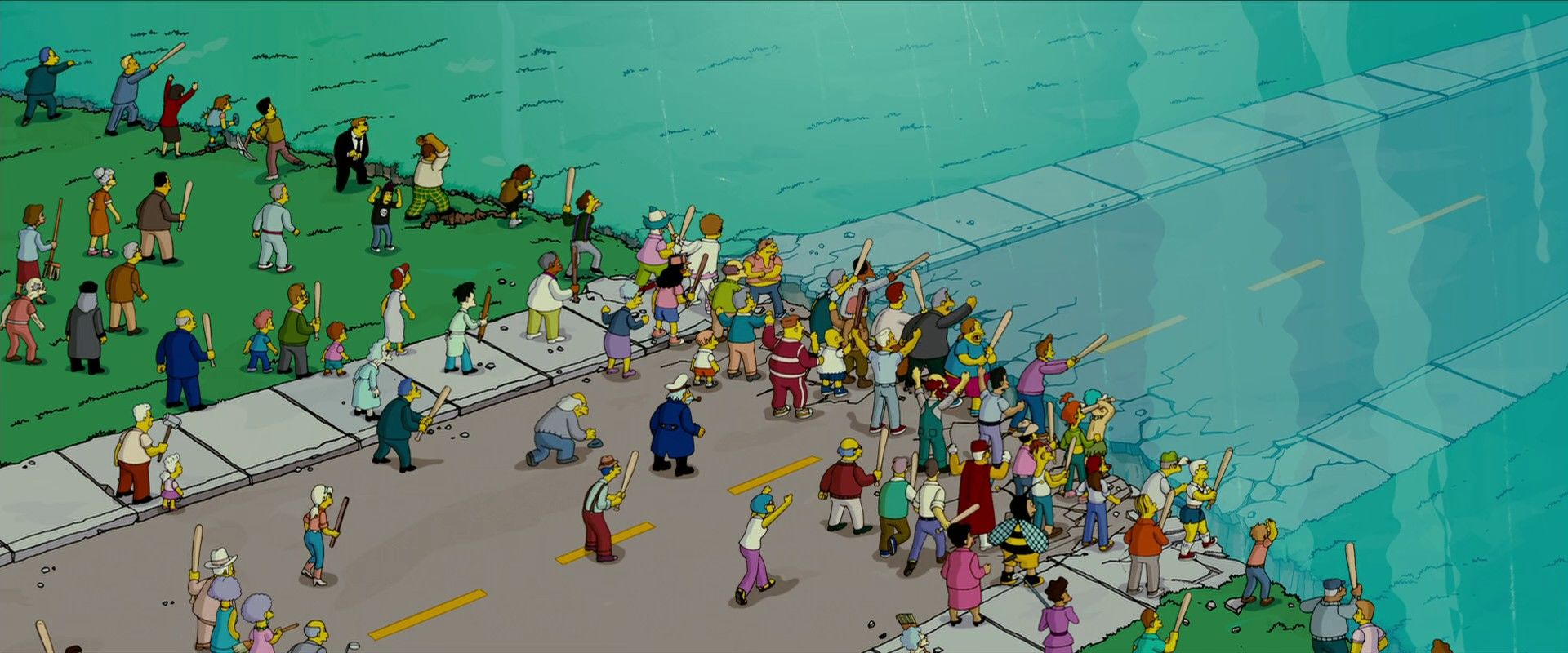 The Simpsons - The Simpsons Movie extra